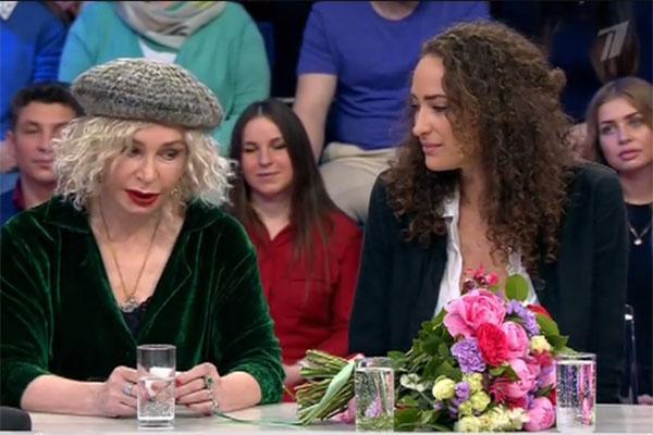 Татьяна Васильева с дочкой Лизой