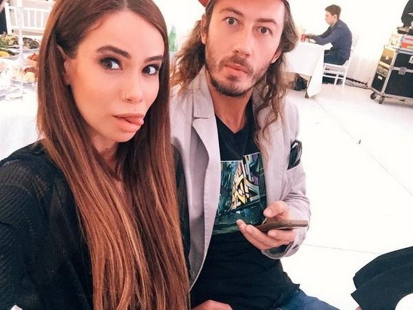 Айза Анохина с мужем Дмитрием