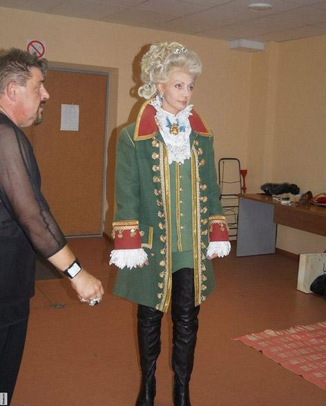 Кристина Орбакайте вновь сыграет имератирицу Екатерину II
