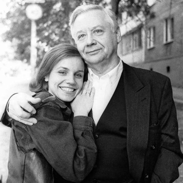 Олег Табаков с первой супругой Людмилой Крыловой