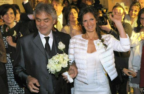 Андреа Бочелли и Вероника Берти