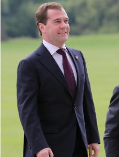 Дмитрий Медведев на приеме в Букингемском дворце
