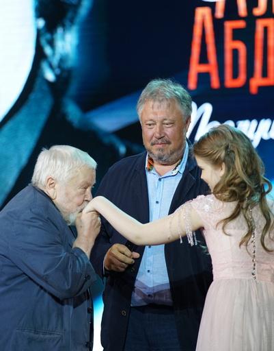 Сергей Соловьев, Сергей Степанченко и Женя Абдулова