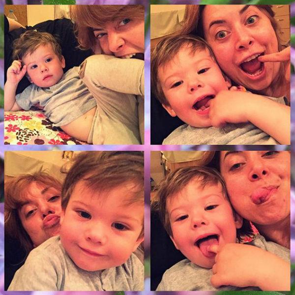 Наталья Фриске любит племянника больше жизни
