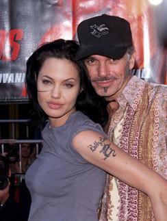 Анджелина Джоли и Билли Боб Торнтон в 2000 году