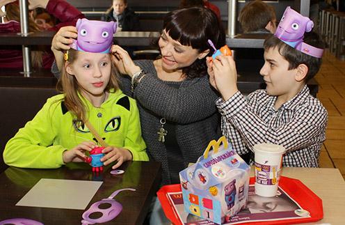 Семья с игрушками «Хэппи Мил» серии «Дом»