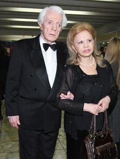 Олег Стриженов с супругой актрисой Лионеллой Пырьевой