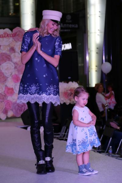 Саша была самой юной моделью на мероприятии