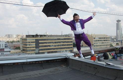 Михаил Галустян сыграл главную роль в новой комедии про Карлосона