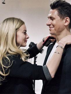 Тимур Батрутдинов со стилистом «Холостяка» Екатериной Трошко