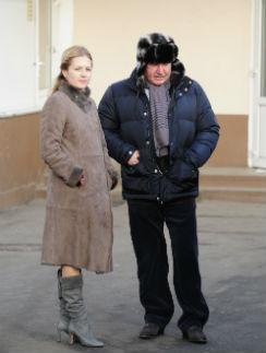 Ольга Поминова и Николай Агурбаш собираются ехать на обед