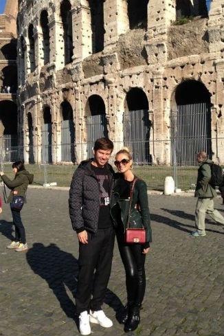 До этого ребята путешествовали по Риму