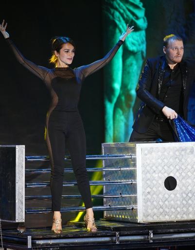 Номер Сати Казановой и Сергея Сафронова