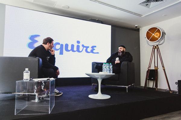 Максим Фадеев ответил на вопросы главреда Esquire Сергея Минаева и пообщался с посетителями фестиваля