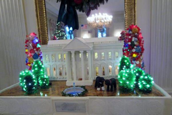 Сладкая копия Белого дома