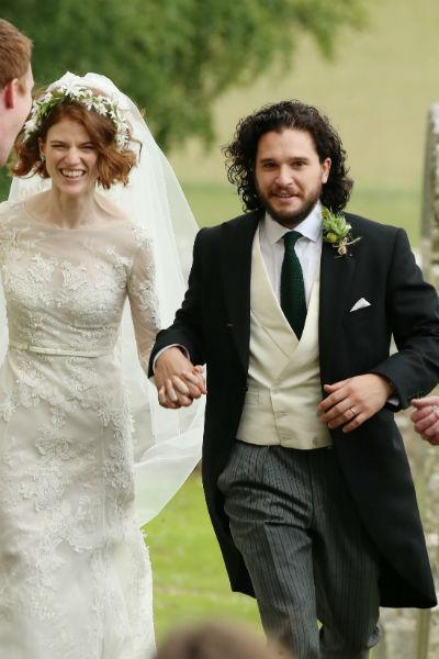 Роуз и Кит поженились в июле 2018 года