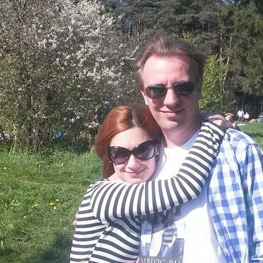 Карина с супругом