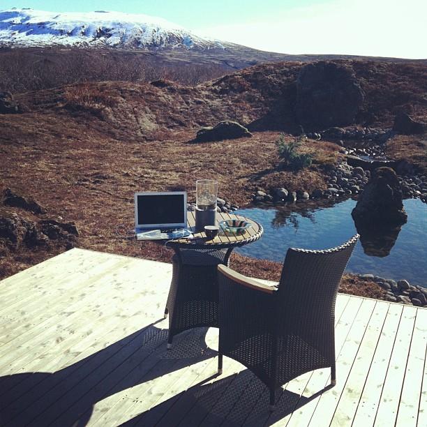 Утро Собчак и Виторгана в Исландии