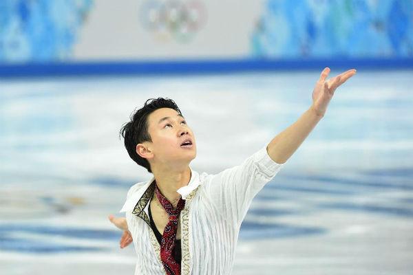 Денис считался лучшим фигуристом Казахстана