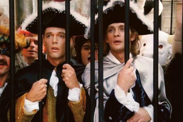 Известность Александру принесла роль в фильме «Гардемарины III», 1992 год