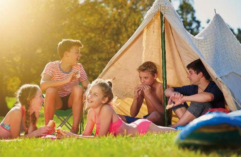 Многим ребятам нравится находиться в лагере