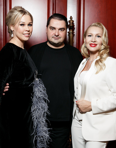 Ксения Афанасьева, Артем Сорокин и Екатерина Одинцова