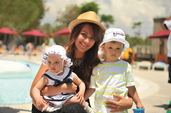 Оксана воспитывает 4-летнюю дочку Елизавету и 5-летнего сына Федора