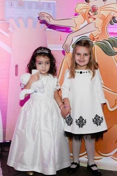 Алла-Виктория и дочь Кристины Орбакайте — Клавдия
