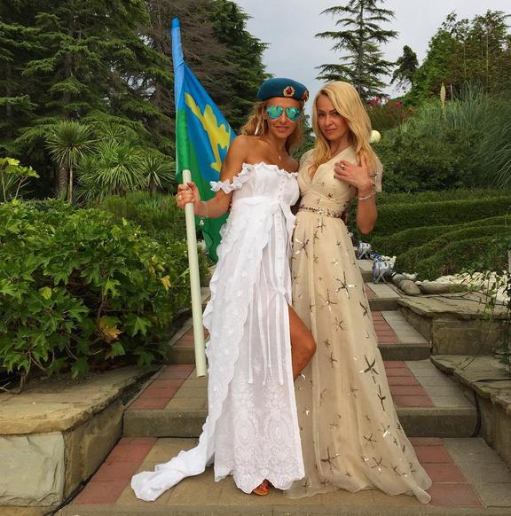 Татьяна Навка и Яна Рудковская