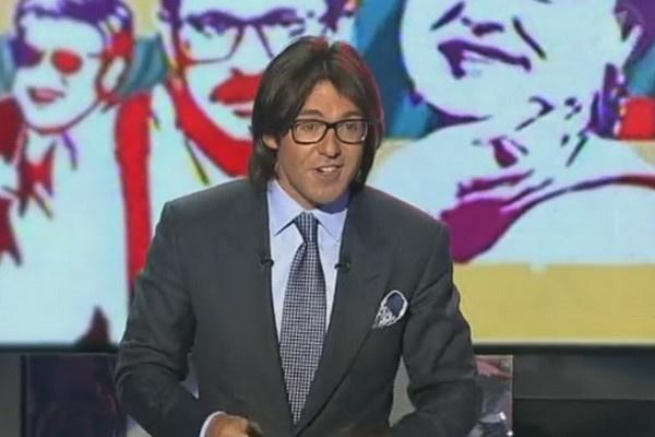 Андрей Малахов в первом выпуске субботнего шоу Первого канала