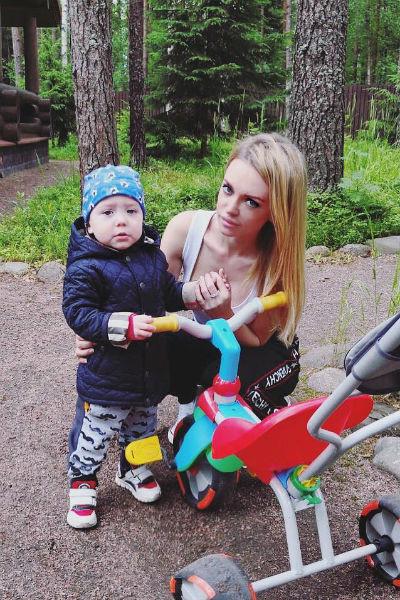 Милана несколько месяцев не могла нормально видеться с ребенком