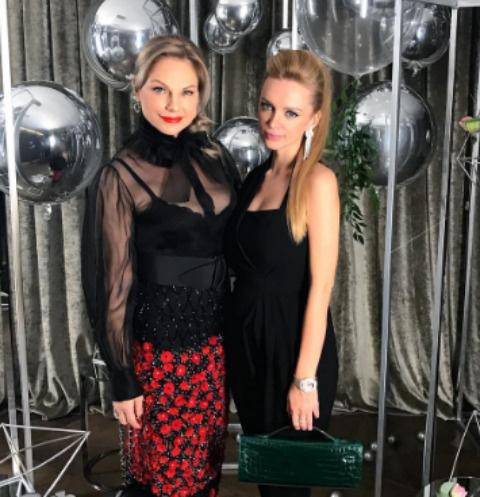 Милана Кержакова с мамой Натальей Тюльпановой
