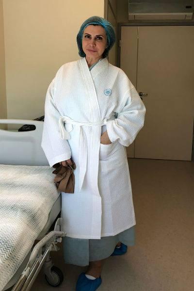 Агибалова надеется, что липосакция решит давнюю проблему