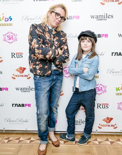 Маргарита Митрофанвоа с дочерью Полиной