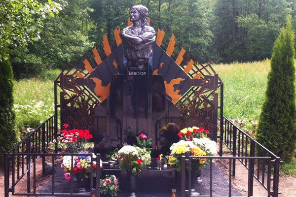 Памятник Виктору Цою в Латвии