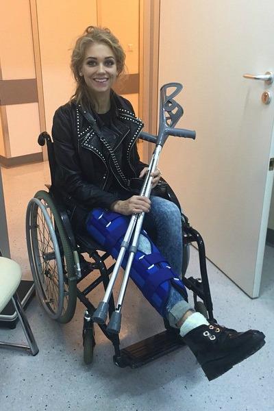 Кристина Асмус получила серьезную травму, после чего выбыла из шоу