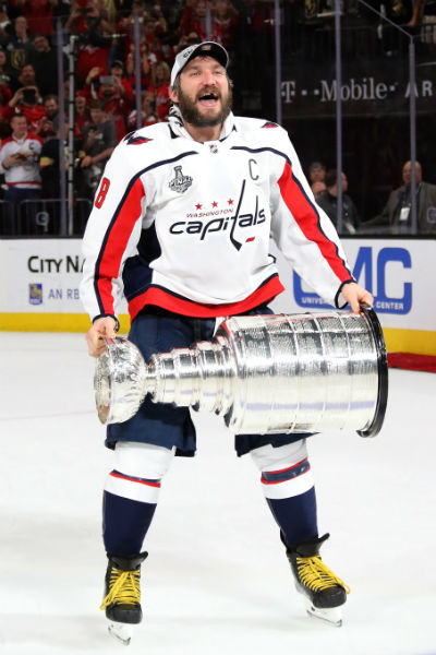 Хоккейный клуб «Вашингтон Кэпиталз» стал обладателем Кубка Стэнли