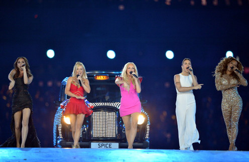 Spice Girls на закрытии Олимпиады