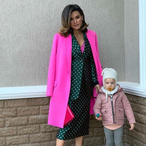 Ксения Бородина и ее младшая дочь Теона