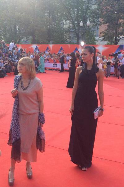 Вера Глаголева с дочкой Анастасией Шубской