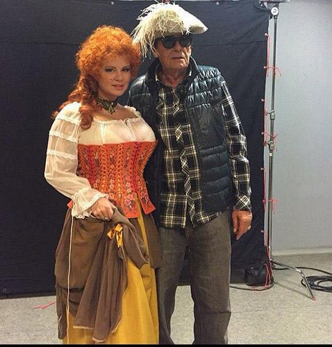 Анна Семенович и Анатолий Мукасей