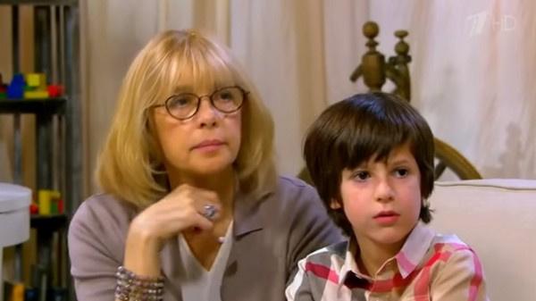 Вера Глаголева с одним из своих внуков