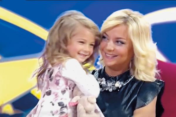 Дочь Сагаловой мечтает стать телезвездой, как ее мама