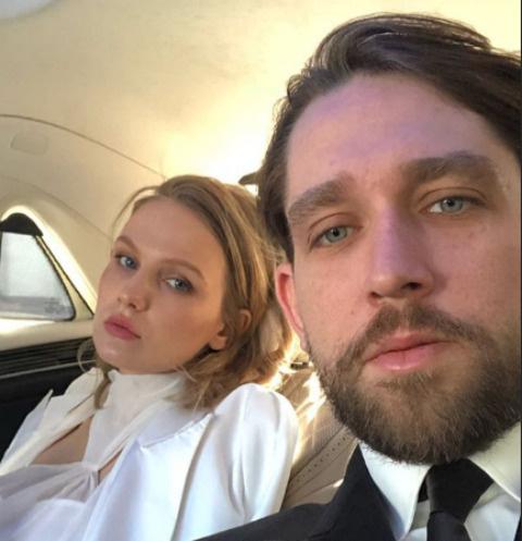 Маруся Фомина и ее супруг Алексей Киселев