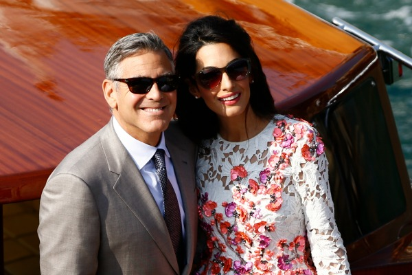 Свадьба пары состоялась в сентябре прошлого года в Венеции