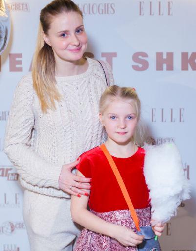 Анна Красина с дочкой