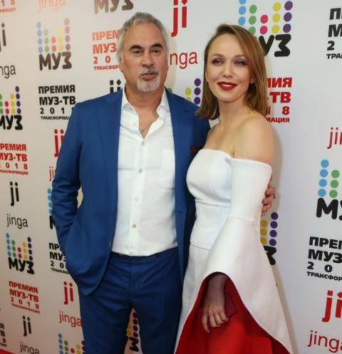 Валерий Меладзе и Альбина Джанабаева