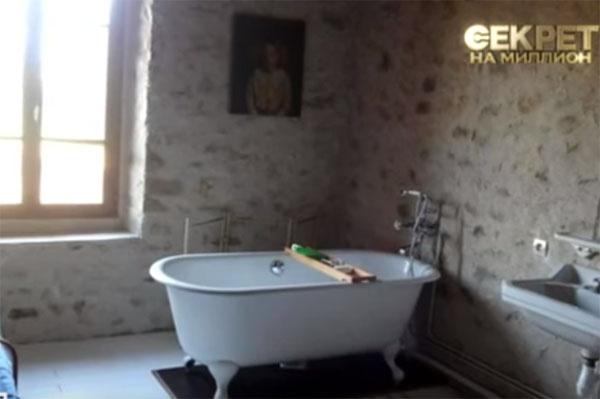 Ванна девятнадцатого века – одна из главных ценностей литовского жилища Васильева