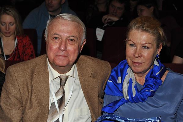 Борис Ноткин и его супруга Ирина Ивановна