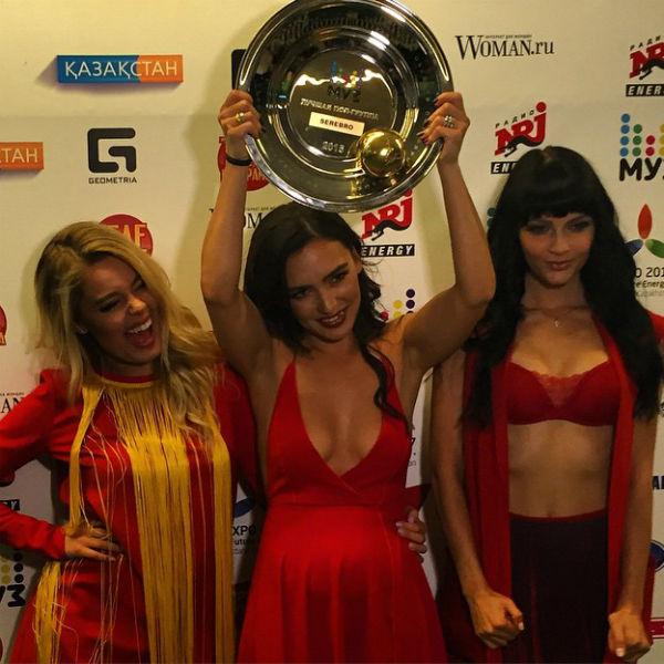 Группа «Серебро»была признана лучшим музыкальным коллективом года